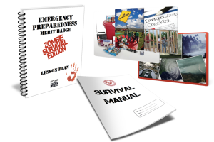 Emergency Preparedness merit badge - Zombie Survival Edition